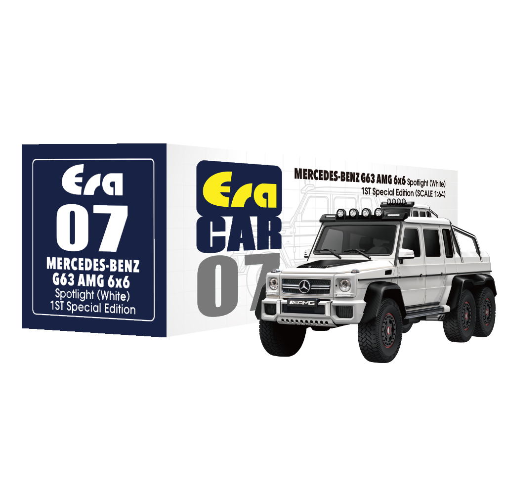 New: EraCar 1/64 Mercedes-Benz - G63 AMG 6X6