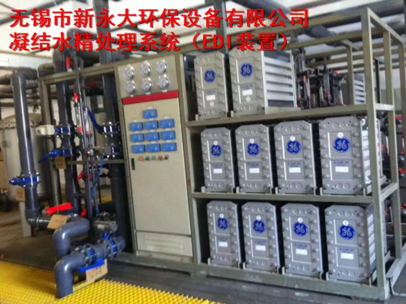 凝结水精处理系统EDI