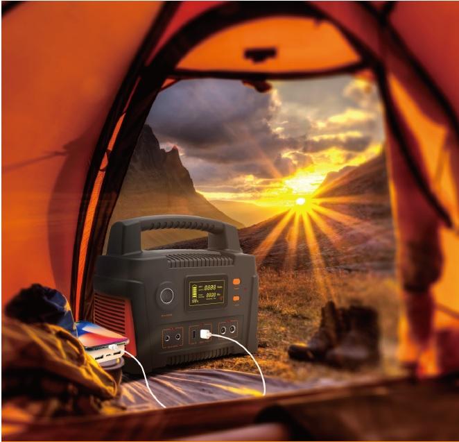 X300 Portable Solar Generator