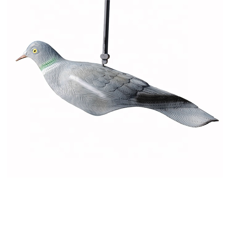 Emulational Hunting Pigeon Shell Decoy 3D Animal Bait Decoy For Decoration Indoor or Courtyard