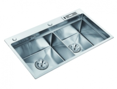 59-02800 不锈钢水槽(304手工盘)