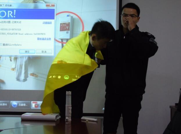 """消防宣传培训进企业 员工齐学""""防火术"""""""
