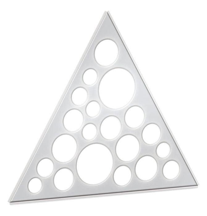 三角板圆形乱孔灯(LED天花灯)