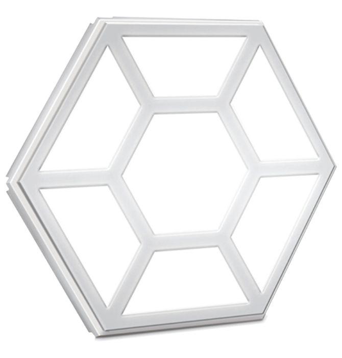 凸六边形板灯(LED天花灯)
