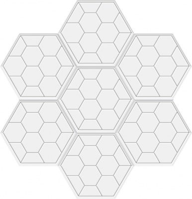 六边形板蜂巢拼图