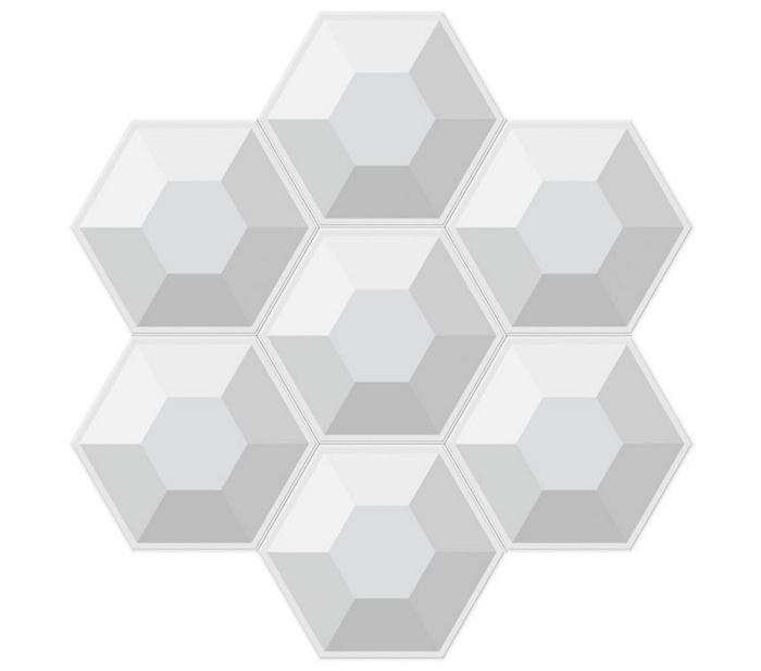凸六边形板拼图