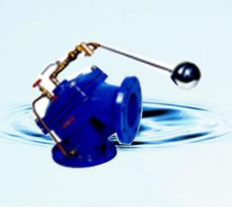 定水位閥 100A角型