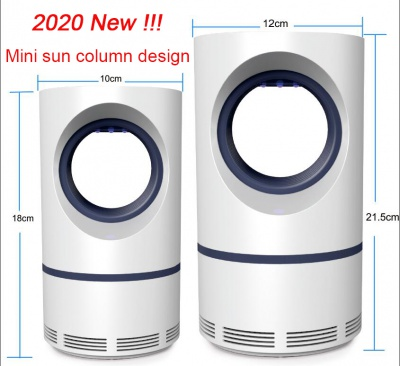 New 2020 Physical LED USB Trapping Mosquito Killer Lamp Electronic Insect Pest Bug Zapper Repeller