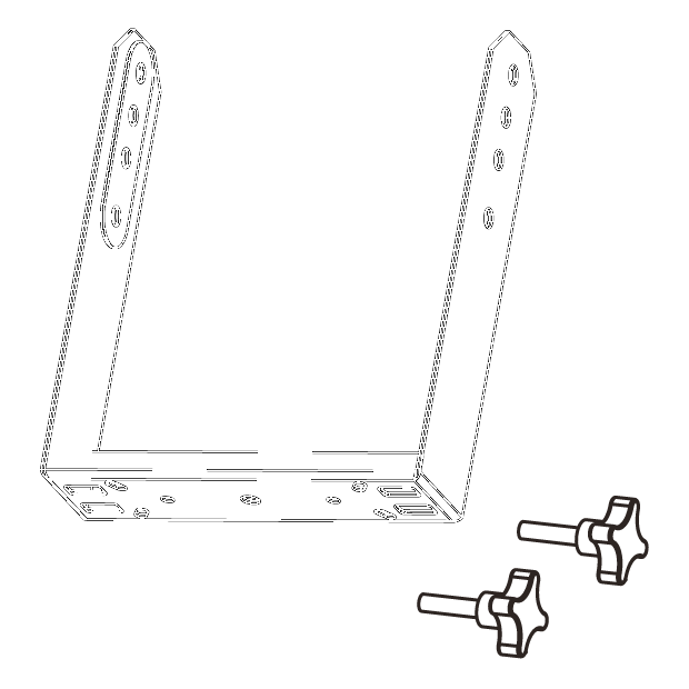Vertical bracket for EX6