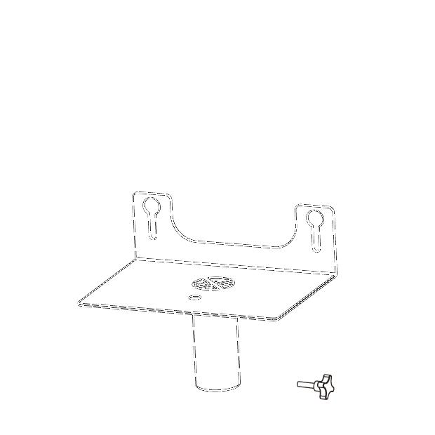 Pole mount adaptor