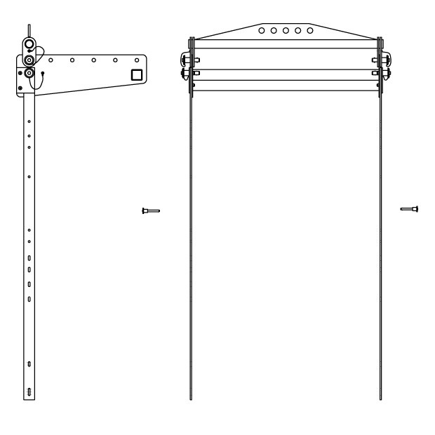Fly Bar and Bracket for ES Sys