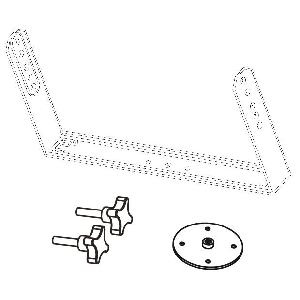 Horizontal bracket for EX26
