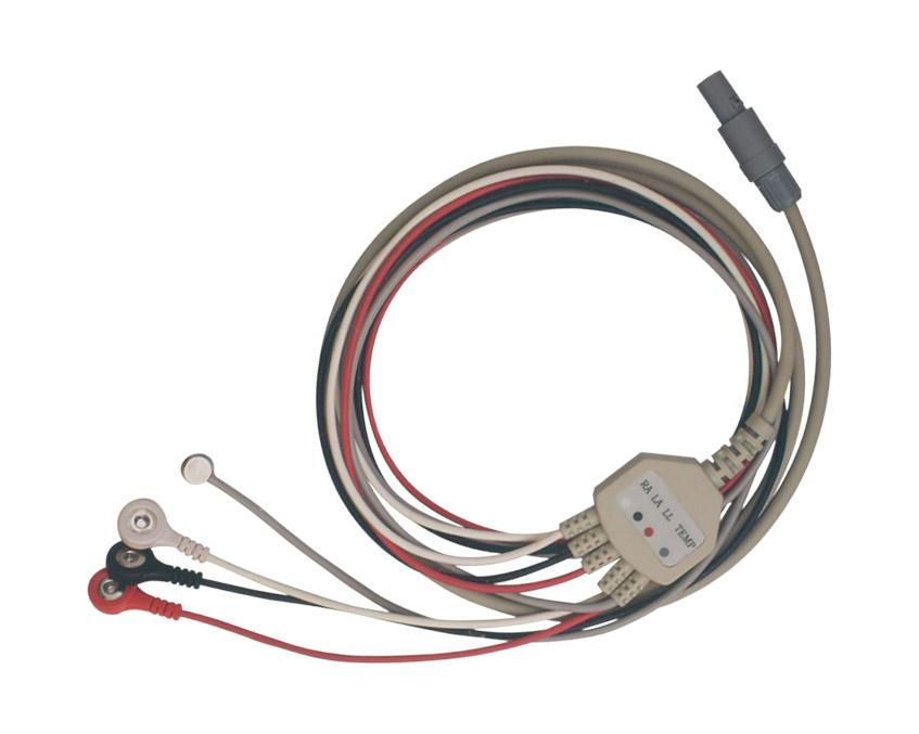 3导心电导联线