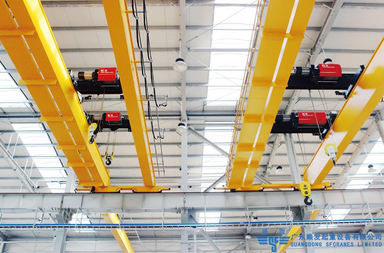 欧式系列标准化双梁桥式起重机