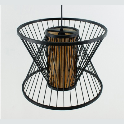 Chinese Bamboo weaving bambooRattan Pendant Lamp MD-Z016JR