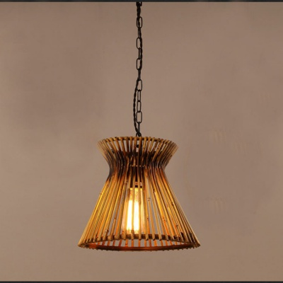 Chinese Bamboo weaving bambooRattan Pendant Lamp MD-Z019JR-D