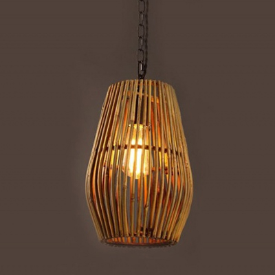 Natural bamboo pendant lamp MD-Z019JR-F