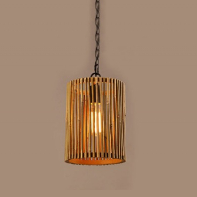 Modern Neutral Bamboo Pendant Lamp for Home Hotel OEM MD-Z019JR-H