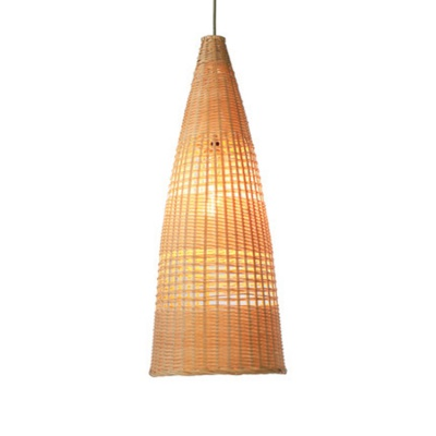 Chinese Bamboo weaving bambooRattan Pendant Lamp MD-2Z017