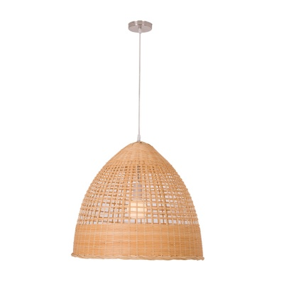 Round natural bamboo pendant lamp MD-2Z018