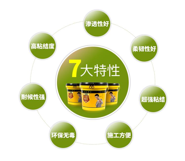 强力瓷砖粘结剂特性