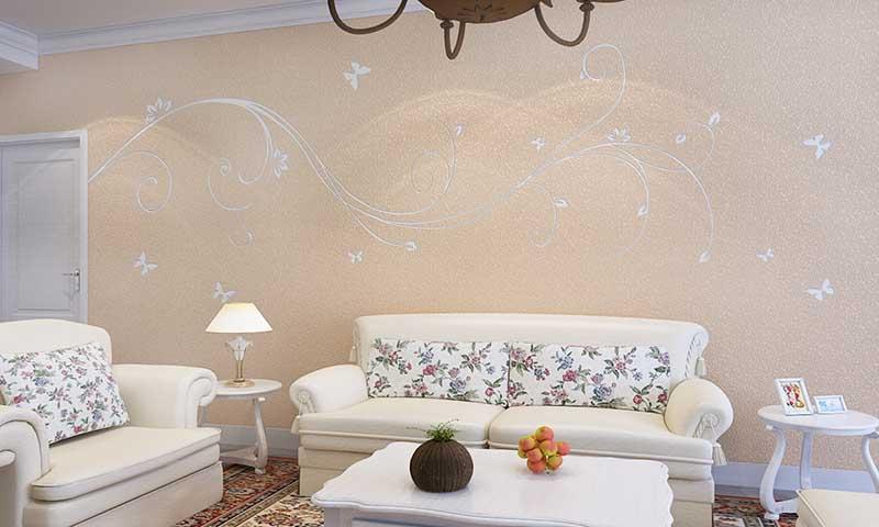 贝壳粉现代风格效果图