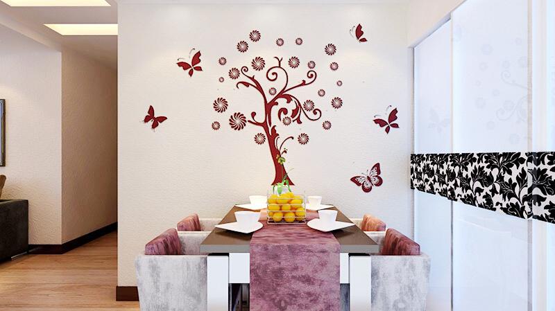 这是贝壳粉的餐厅装修图