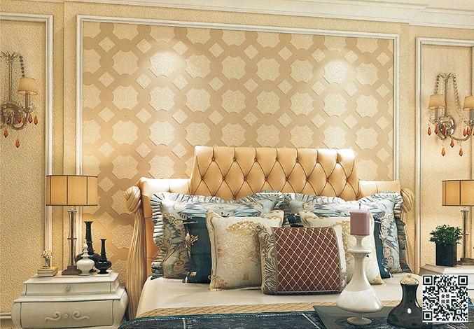 贝壳粉美式风格卧室图片