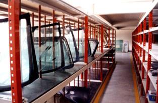 仓储货架的结构特点主要有那些方面