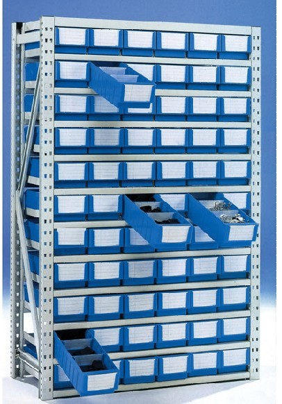 物料盒货架体系