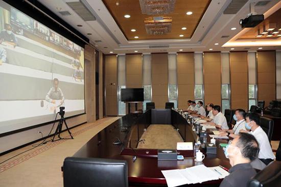 中国有色集团召开海外企业视频连线...