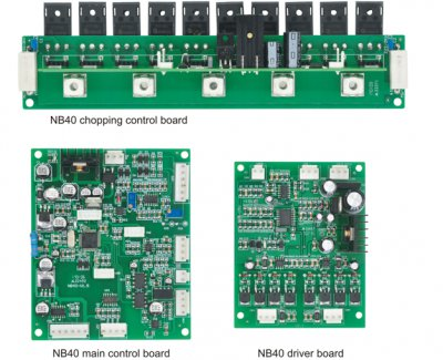 Nb40 high-speed pulse MIG control board