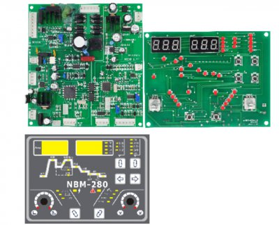 NBM280 multi-function pulse MIG control board