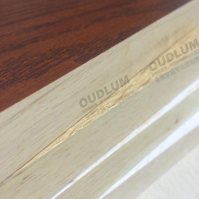 泰国橡胶木AA级 多款免漆木纹饰面颜色