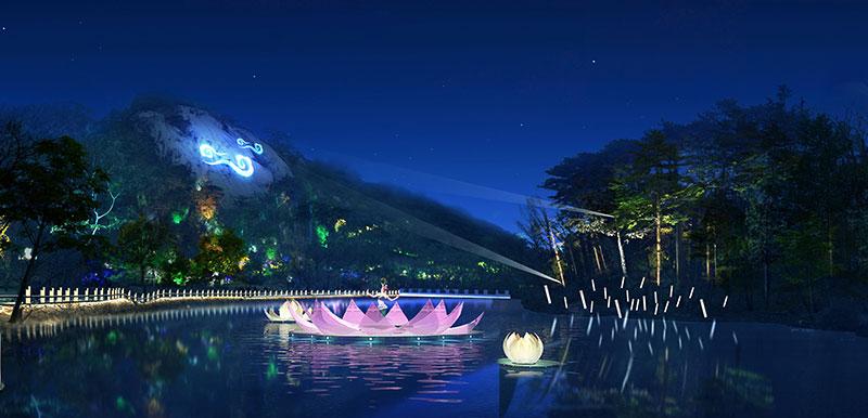 旅游景区特色夜景亮化设计