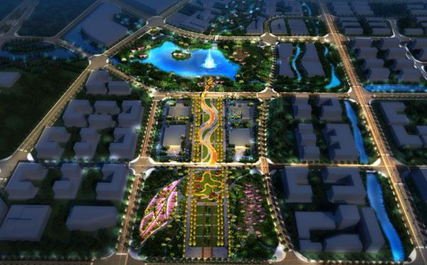工业园区规划景观照明设计