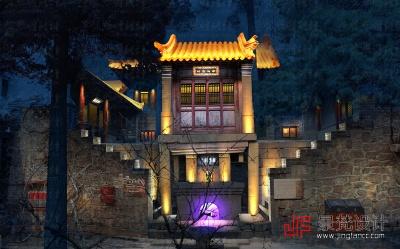 游园景观古建筑照明设计