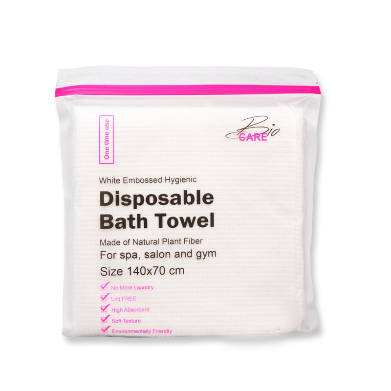 Disposable bath towel