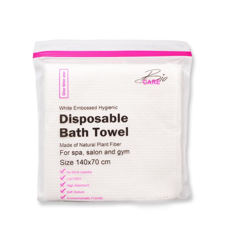 Disposable bath towel