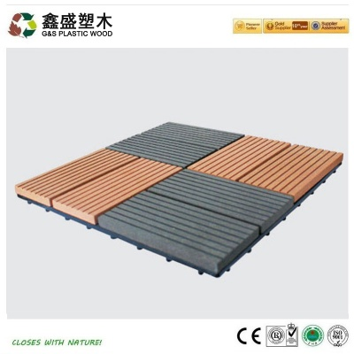 塑木拼装地板_GS-DIY-06H