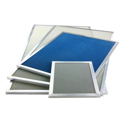 TiO2 aluminum honeycomb Photo catalyst filters for Purify air and harmful organic matter