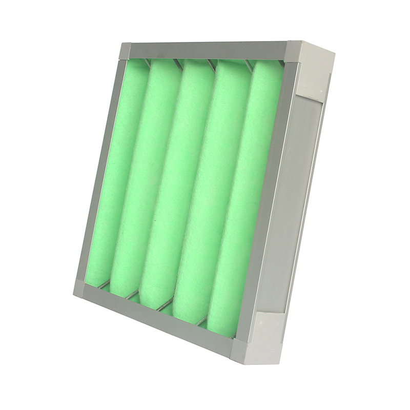 metal keel rack mounted aluminum frame Initial medium efficiency filters