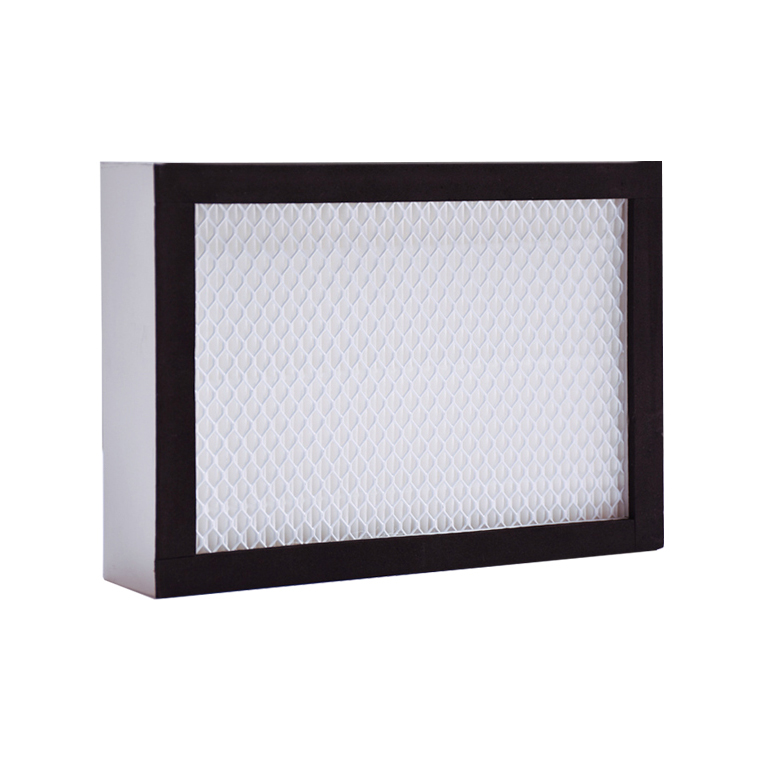 No clapboard fiberglass, PP, PET composite HEPA ,ULPA filter for air purifier