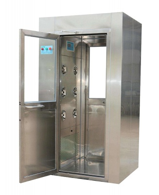 High performance High seal Clean air shower room one or two person air shower Wind drip rooms