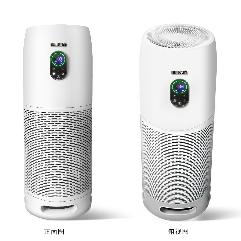500 CFM Home office hotel room use smart control air purifier