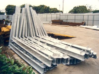 路牌用九比架 Structural Steel Frame for Sign Board