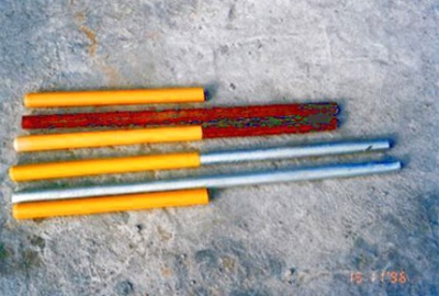 兜巴及黃套 Dowel Bar with Yellow Sleeve