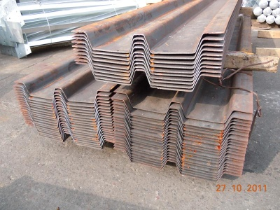 閘板  Trench Steel Sheet Piles
