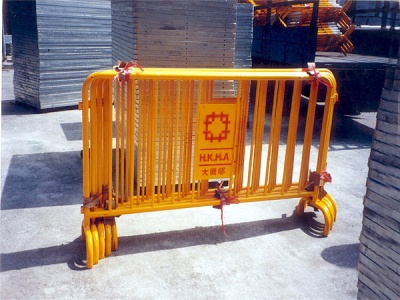 房屋署鐵馬欄河 Portable Barrier for Housing Dept