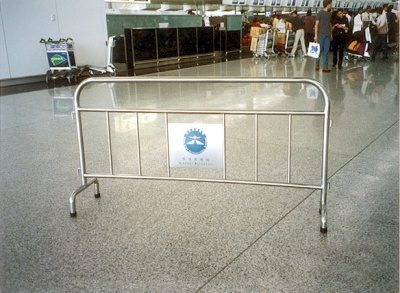 機場不銹鋼欄河 Stainless Steel Portable Barrier for Airport at Passenger Terminal